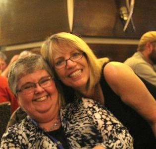 Lesa Holstine And Robin Burcell - Bouchercon New Orleans 2016
