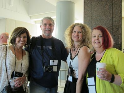 Maryglenn McCombs, David Magayna, Alex Sokoloff And Sarah Byrne - Raleigh Bouchercon 2015