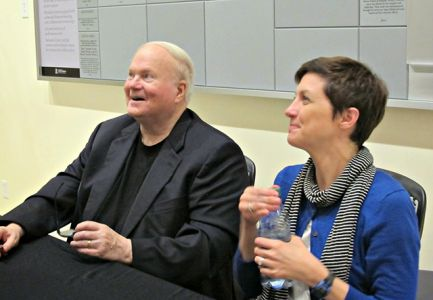 Pat Conroy And Catherine Seltzer - Understanding Pat Conroy Event Columbia SC - 2015