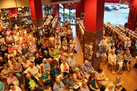 Crowd - Margaret Maron At Quail Ridge Books For Margaret S Launch For Take Out - 2017