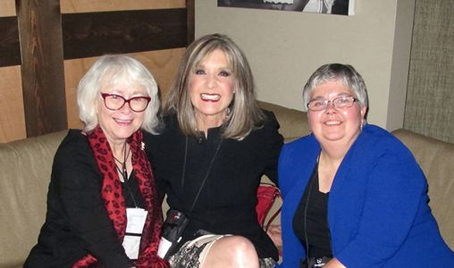 Me, Hank Phillippi Ryan And Lesa Holstine - Raleigh Bouchercon 2015