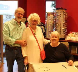 Me And Donald With Margaret Maron At Quail Ridge Books For Margaret S Launch For Take Out - 2017