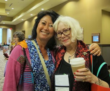 Me And Em Bronstein - Raleigh Bouchercon 2015