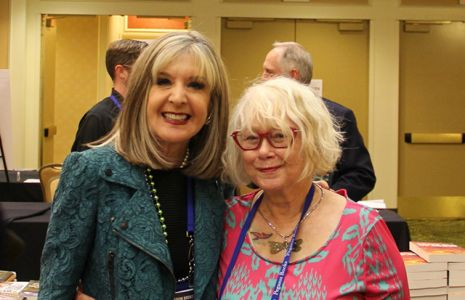 Me And Hank Phillippi Ryan - Bouchercon New Orleans 2016