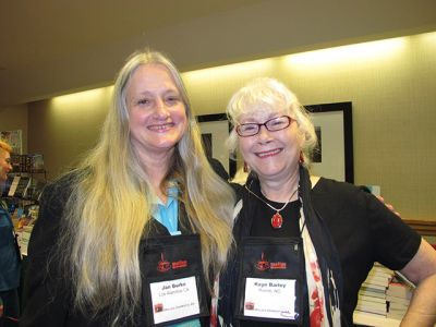 Me And Jan Burke, Malice Domestic 2012