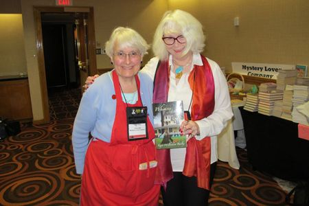 Me And Kathy Harig, Malice Domestic, 2013