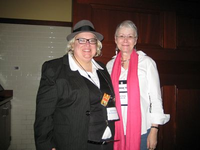 Me And Kelli Stanley, Indianapolis Bouchercon 2009