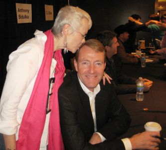 Me And Lee Child, Indianapolis Bouchercon 2009