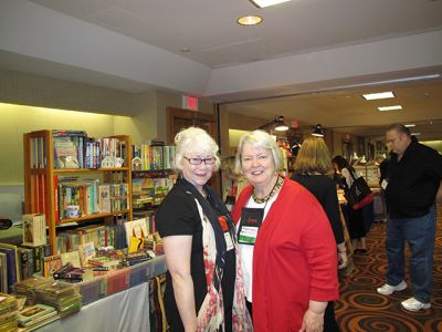 Me And Margaret Maron, Malice Domestic 2012