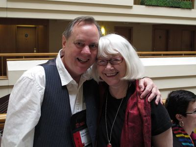 Me And Phillip DePoy, Malice Domestic 2013