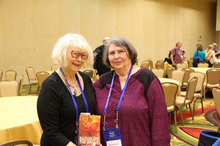 Me And Shirley Wetzel - Bouchercon New Orleans 2016