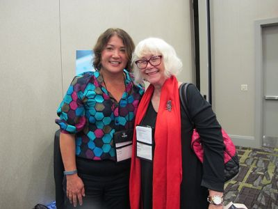 Me With Alafair Burke - Raleigh Bouchercon 2015