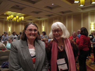 Me With Aubrey Nye Hamilton, Malice Domestic 2013