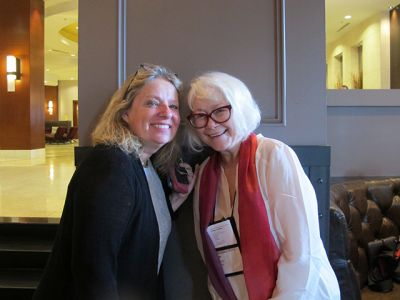 Me With Carrie Feron - Raleigh Bouchercon 2015