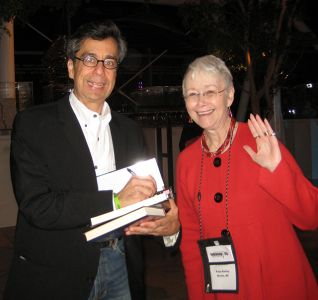 Me With Chris Grabenstein, Indianapolis Bouchercon 2009