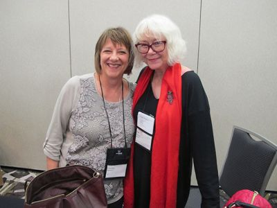 Me With Deborah Crombie - Raleigh Bouchercon 2015