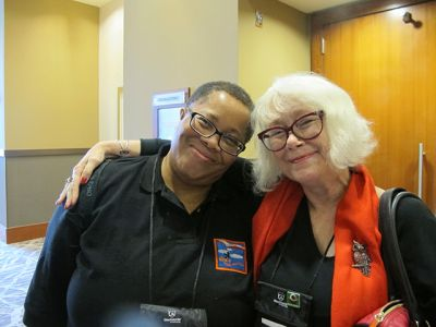 Me With Dru Ann Love - Raleigh Bouchercon 2015