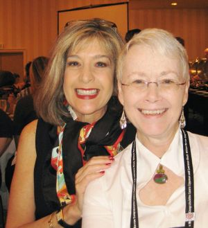 Me With Hank Phillippi Ryan - Baltimore Bouchercon 2008