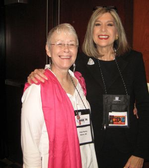 Me With Hank Phillippi Ryan, Indianapolis Bouchercon 2009