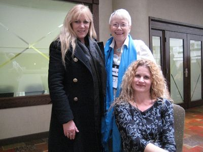 Me With Heather Graham And Alex Sokoloff, Indianapolis Bouchercon 2009