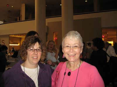 Me With Jen Forbus - Indianapolis Bouchercon 2009