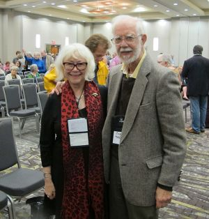 Me With Joe Maron - Raleigh Bouchercon 2015