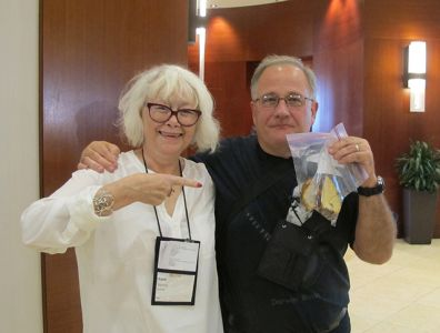 Me With John Purcell - Raleigh Bouchercon 2015