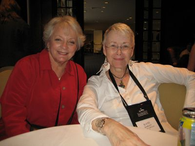 Me With Judith Greber - Baltimore Bouchercon 2008