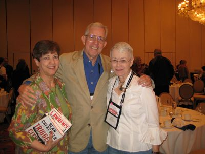 Me With Judy And Bill Crider, Baltimore Bouchercon 2008