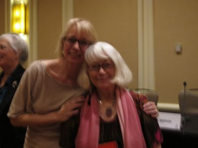 Me With Laura Lippman, Malice Domestic 2013