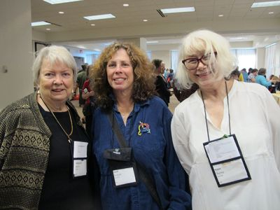 Me With Margaret Maron And Janet Rudolph - Raleigh Bouchercon 2015