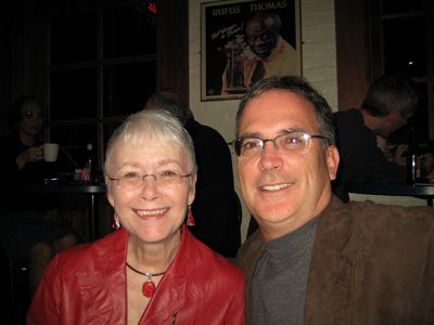 Me With Michael Wiley, Indianapolis Bouchercon 2009