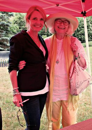 Me With Patti Callahan Henry - High Country Festival Of The Book 2014