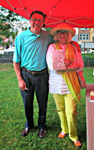 Me With Robert Inman - High Country Festival Of The Book 2014