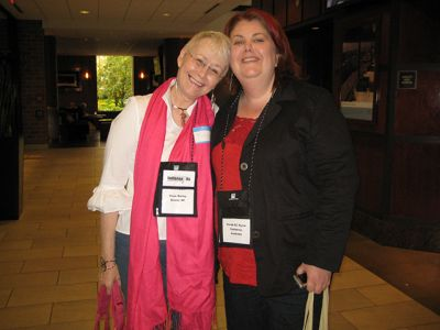Me With Sarah Byrne - Indianapolis Bouchercon 2009