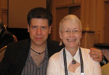 Me With Sean Chercover - Baltimore Bouchercon 2008