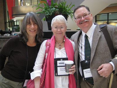 Me With Shelley Costa And Jonathan Quist, Indianapolis Bouchercon 2009