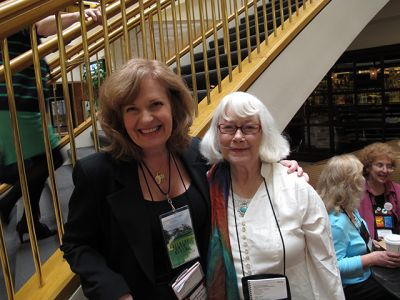 Me With Stephanie Jaye Evans, Malice Domestic 2013