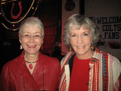 Me With Sue Grafton, Indianapolis Bouchercon 2009