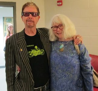 Me With Tom Robbins Appalachian State University Boone NC - 2018
