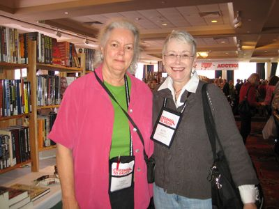 Me With Vicki Lane - Baltimore Bouchercon 2008
